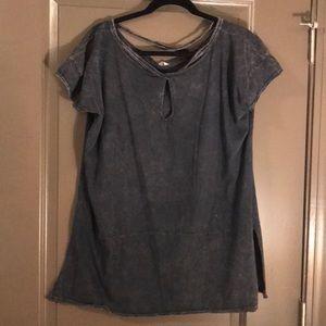 Gray free people shirt!!